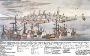 Wrecks at Cadiz 1805